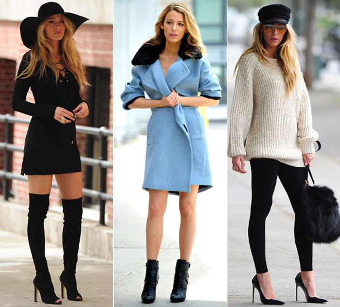 Celebrity Style Inspiration Blake Lively Sass And The City