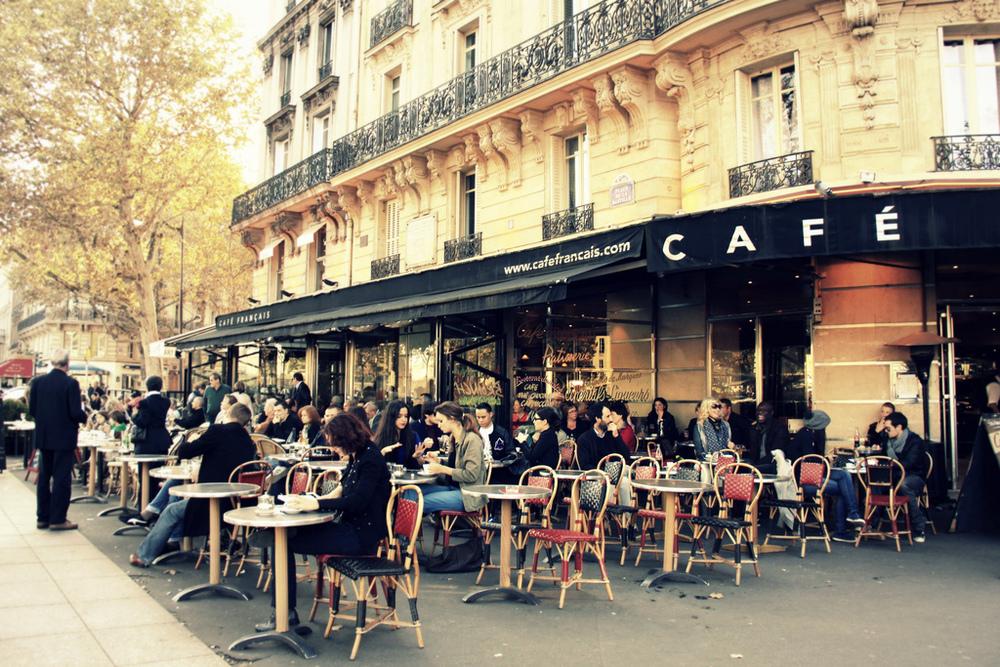 French Restaurant Street Cafe