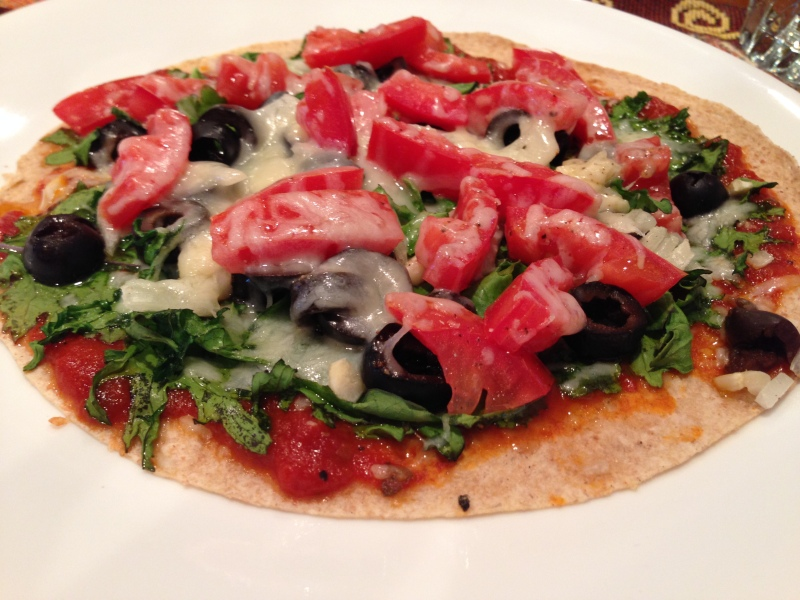Healthy Veggie Pizza