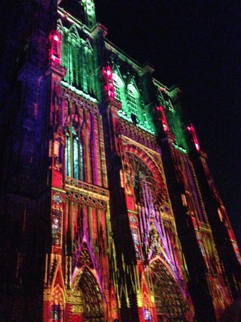 Notre Dame Light Show